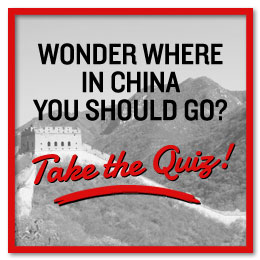 Where should you travel in China, take the quiz